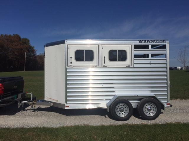 2018 Elite Trailers 2 Horse BP Wrangler Horse Trailer