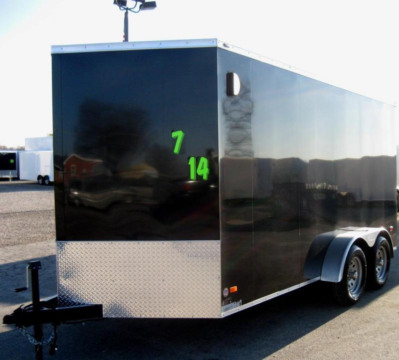 <b>Now Available</b> 2019 7'x14' Scout Cargo with Ramp Door/ Plus Pkg. PLUS Free Upgrades