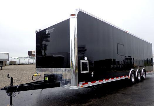 32' Custom Millennium Enclosed Trailer Toy Hauler Sleeps 6!