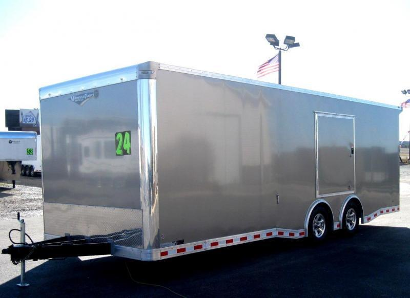 2018 24' NEW Millennium Extreme Trailer w/Spread Axle & Wing