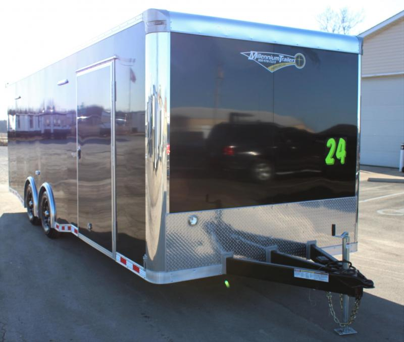 <b>NOW AVAILABLE</b> 2020 24' Millennium Extreme w/Rear Wing & Charcoal Cabinets
