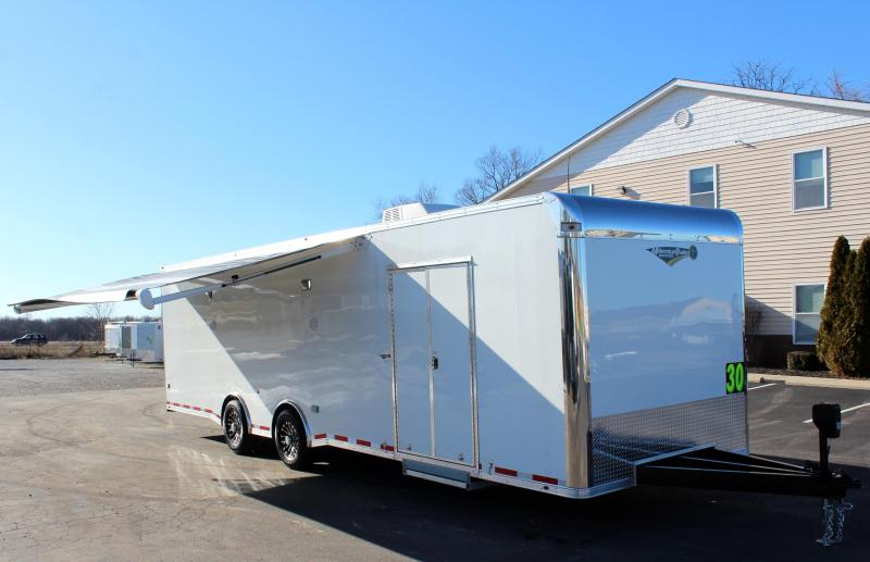 <b>This One is Sold/More on Order</b>  2020 30' Millennium Platinum Car Trailer This One Has it ALL