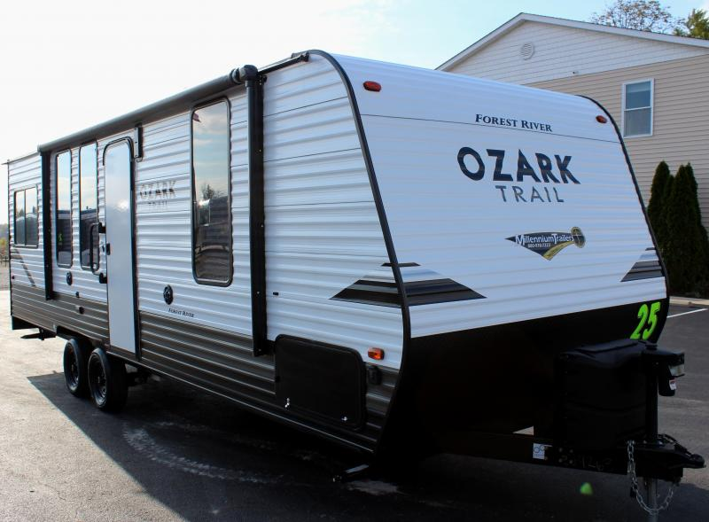 <b>MEGA BLOW-OUT SALE</b>  Pre-Owned 2019 25' Ozark Trail Toy Hauler RV