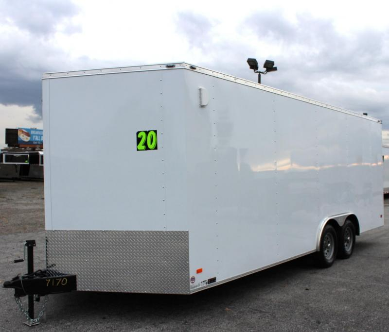 2020 20' Millennium Scout Enclosed Trailer w/Auto Hauler Package
