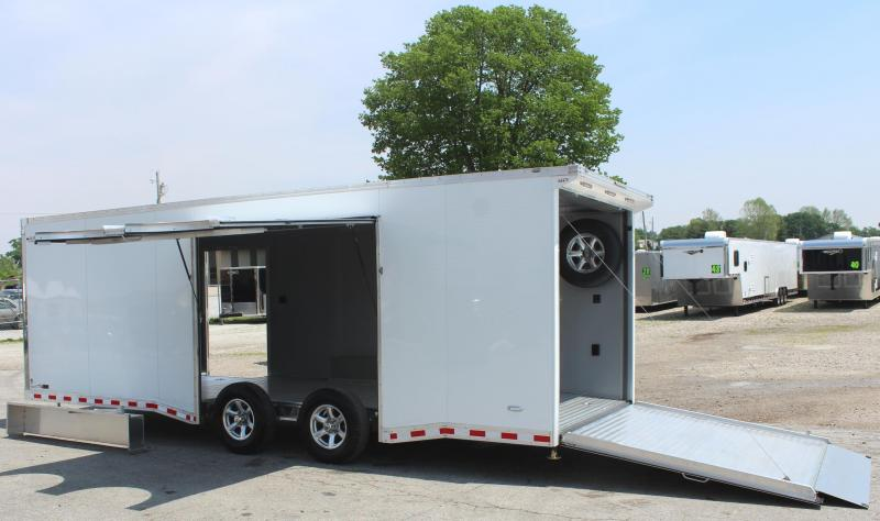 2020 24' All Aluminum with Escape Door w/Removable Wheel Box & Wing  & Extruded Floor