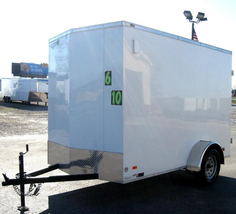 6'x10' Scout Enclosed Cargo Trailer w/Cargo Doors