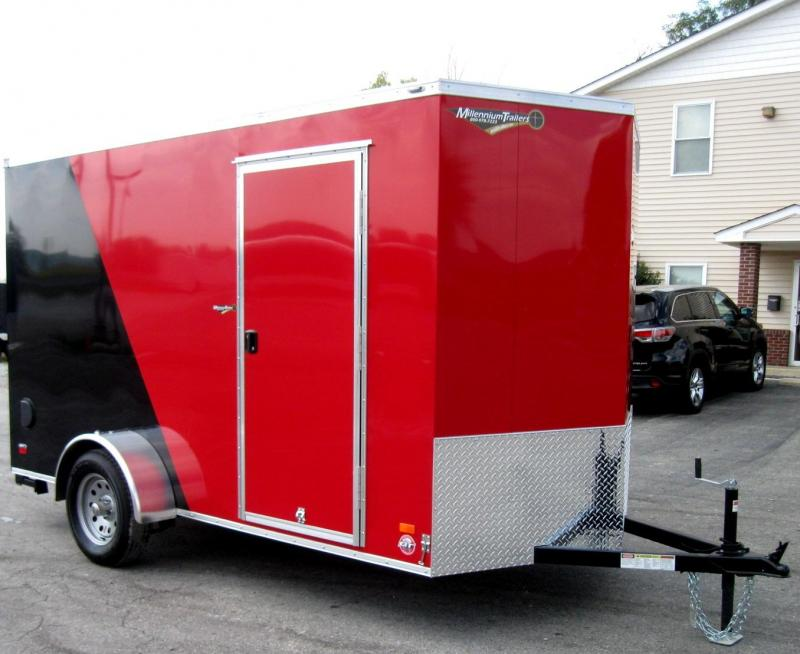6'x12' Scout Cargo Trailer Plus Pkg & Free Upgrades 6