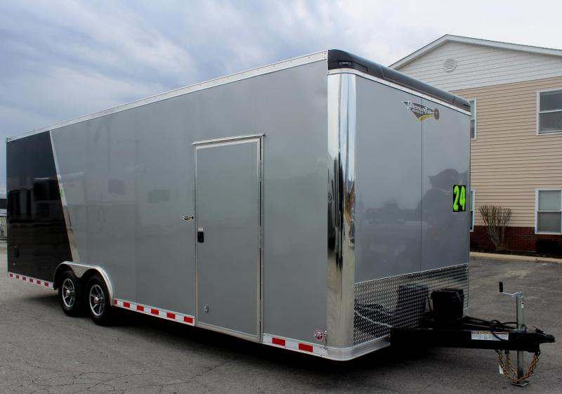 2- Tone Exterior 24' Millennium Star Car Trailer LOADED