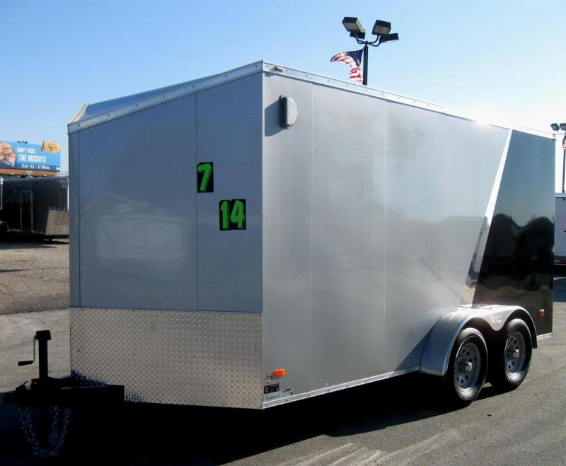 7'x14' Scout Enclosed Cargo Trailer w/Plus Pkg. & Slant Nose/6
