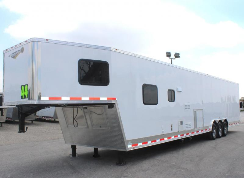 2019 44' Millennium 12'XE Living Quarters Trailer Tapered Nose