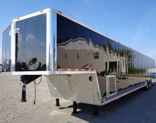 53' Millennium Custom Enclosed Gooseneck Trailer