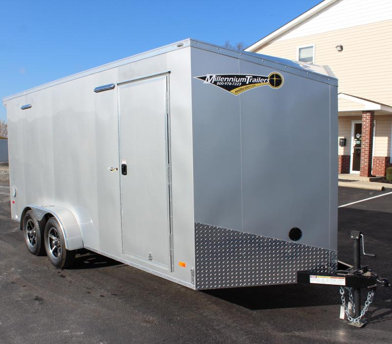 <b>CLEARANCE</b> 2020 7'x16 Millennium Star Enclosed Cargo Trailer