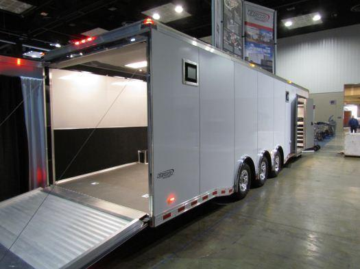 2020 Custom 32' Icon Enclosed Race Car Trailer