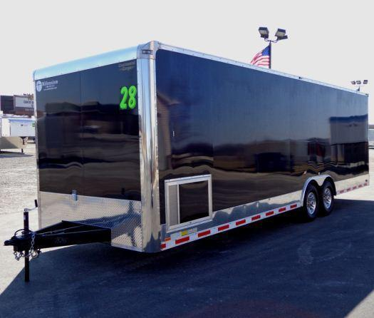2020 28' Millennium Auto Master Race Trailer LOADED!