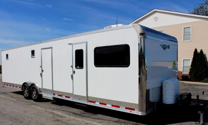 <b>Weekly Special</b> 2019 32' Millennium 12'XE Living Quarters w/20' Cargo