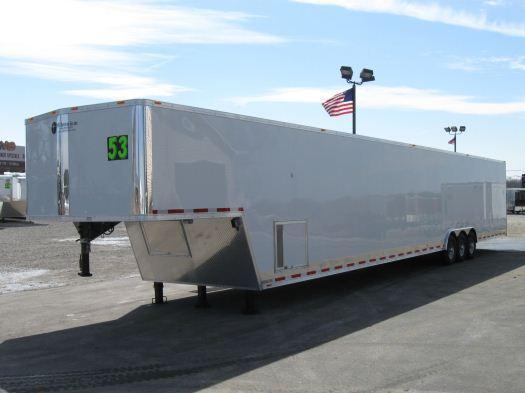 2016 53' Millennium Gold Enclosed Gooseneck Trailer