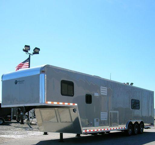 Custom 36' Living Quarter Trailer