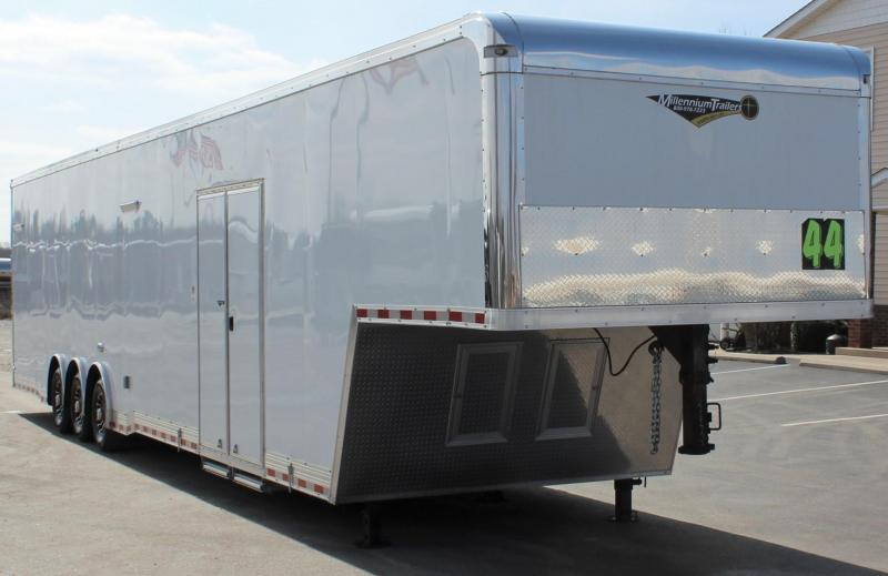 <b>Ready to Rock!</b> 2020 44'  Millennium Auto Master Gooseneck LOADED w/SUPER STOCK PKG!