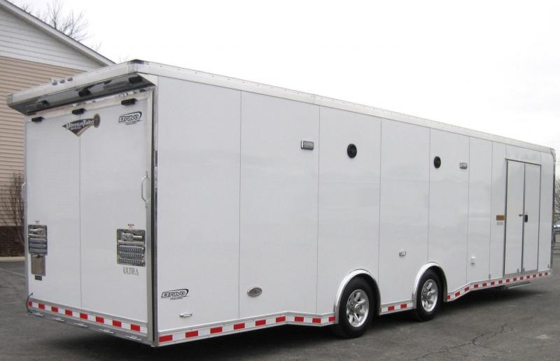 32' Icon Enclosed Car Trailer LOADED
