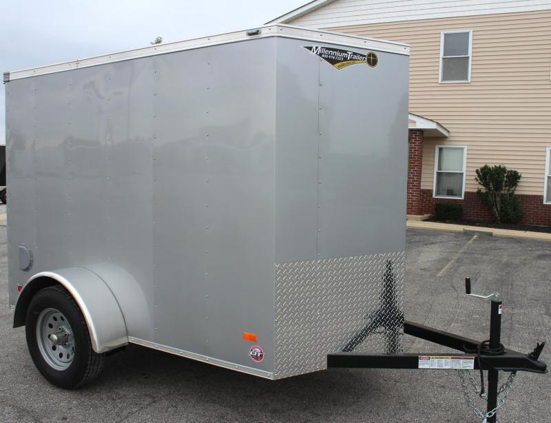 "<b>Now Available</b> 2019 5'x8' Scout Cargo Trailer with Ramp Door 6"" Extra High"