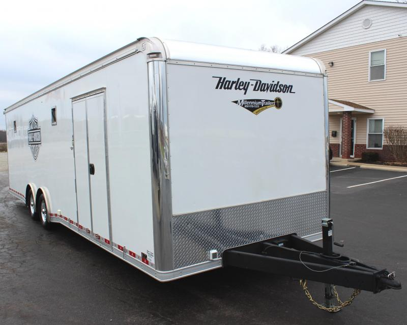 <b>Pre-Owned Trailer: Haul 4 Bikes </b> 2018 United ULT w/Wheel Chocks