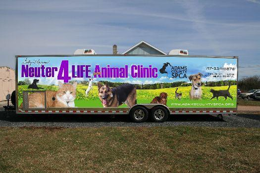 Custom Spay/Neuter Clinic Enclosed Trailer