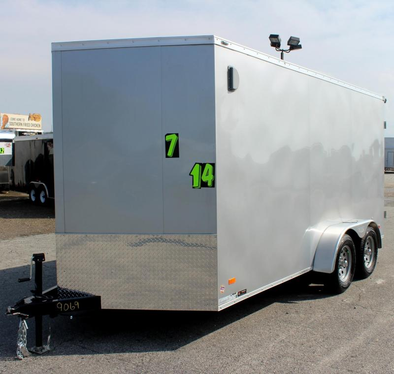 "<b>Double Rear Doors</b> 2020 7'x14' Scout Cargo w/Plus Pkg. 6"" Ext PLUS Free Upgrades"