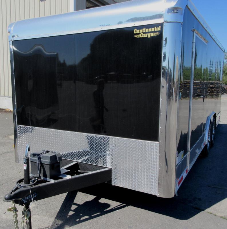 Reduced $5K 2017 20' Millennium Black Enclosed Cargo Trailer