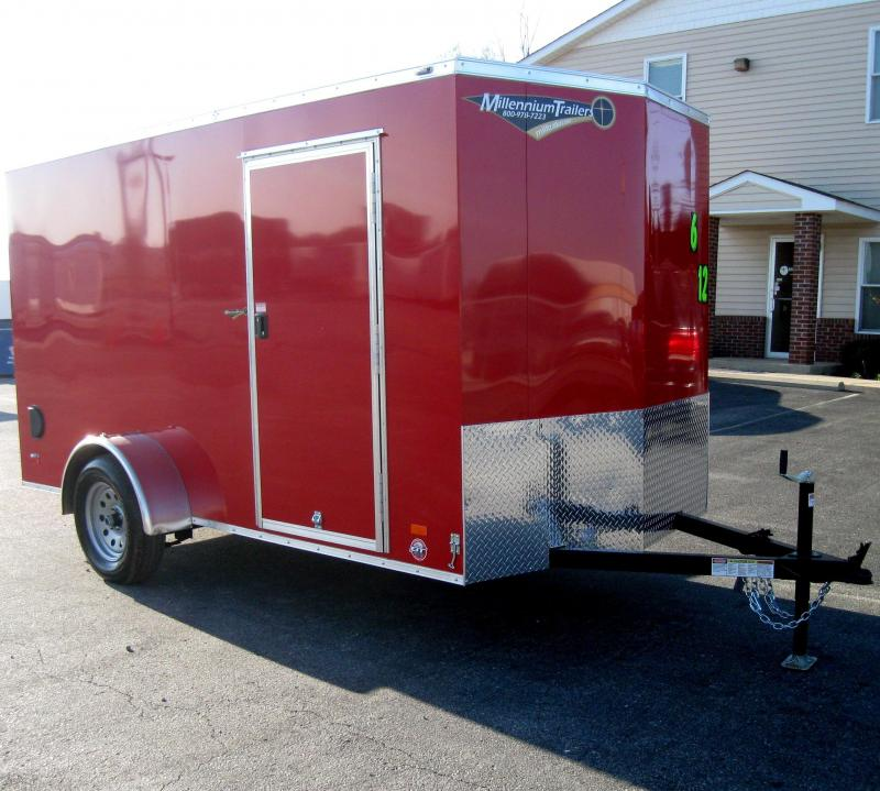 <b>CALL FOR PRICE</b> 6'x12'  Scout Cargo Trailer Plus Pkg & Free Upgrades