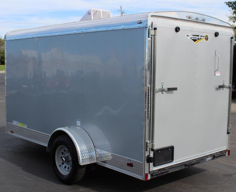 <b>Sale Pending</b>  2018 6'x12' Continental Cargo Tailwind Enclosed Cargo Trailer Little Trailer BIG OPTIONS!