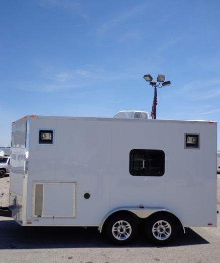 7x14 Millennium Custom Splicing Enclosed Trailer