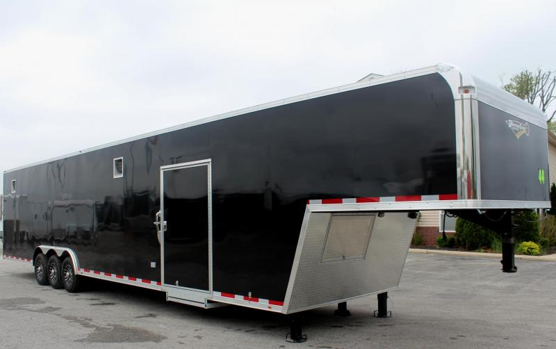 <b>Now Available</b> LOADED 2019 44' Millennium Platinum Enclosed Gooseneck Perfect Price/Perfect Options