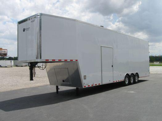 Millennium Trailers 38' Custom Tapered Nose GN Trailer