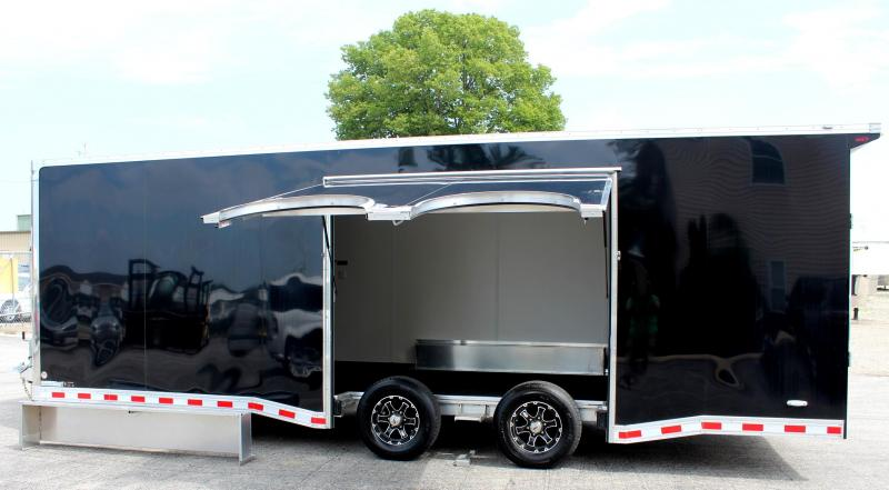 2020 24' Black Millennium Star All Aluminum w/Escape Door w/Removable Wheel Box & Wing