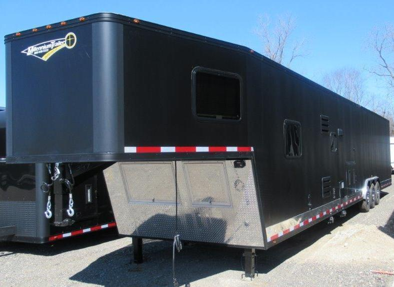 <b>Cancelled Order Due to Financing</b> 2019 Black Out 48' Millennium Trailer w/14' +8' Living Quarters