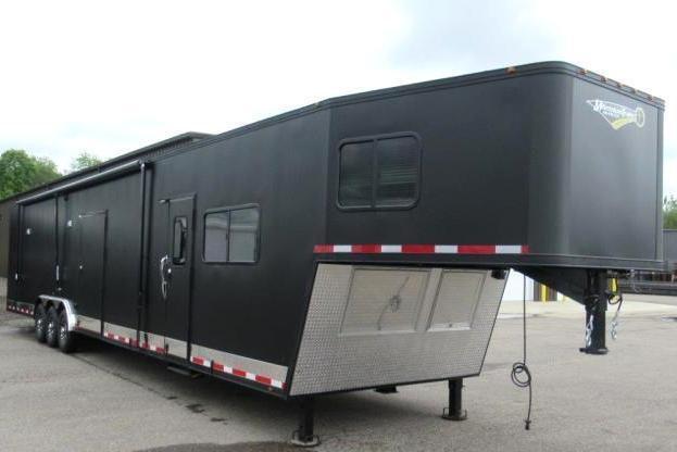<b>Custom Orders Only</b> 2020 Black Out 48' Millennium Trailer w/14'D +8' Living Quarters