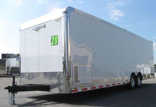 2019 28' Millennium Trailers Auto Master Enclosed Trailer