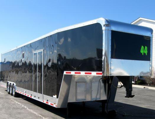 2017 44' Millennium Trailers Auto Master Enclosed Gooseneck Trailer