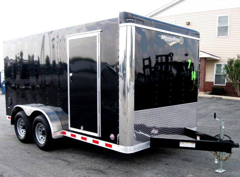 7'x14' Star Cargo Trailer w/ 2/5200 Torsion Axles HD Ramp Door Free Upgrades