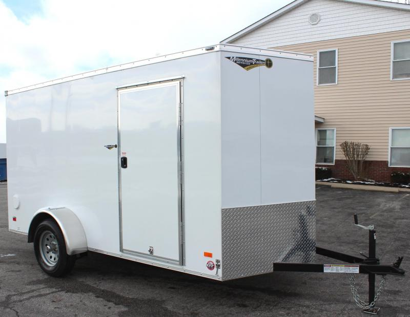 <b>Now Available</b> 2019 6'x12'  Scout Cargo Trailer Plus Pkg & Free Upgrades
