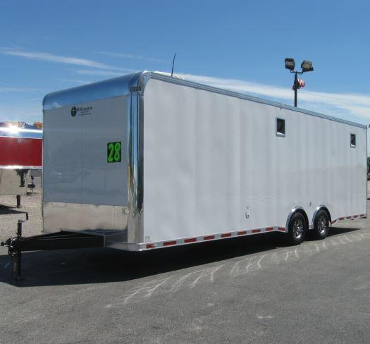 Custom Order  28' Millennium Enclosed Car Trailer w/Mini Lounge