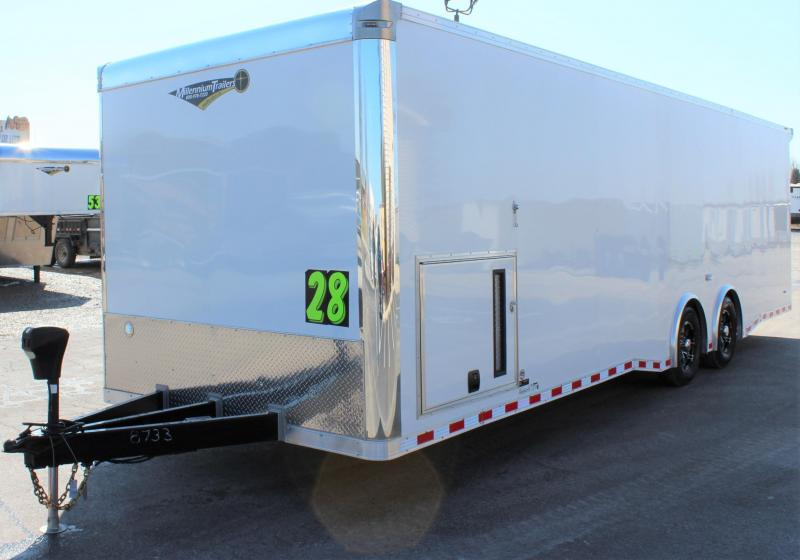 <b>RACE READY</b>  2019 28' Millennium Extreme Race Trailer