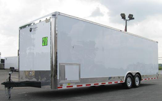 28' Millennium Trailers Auto Master Enclosed Trailer