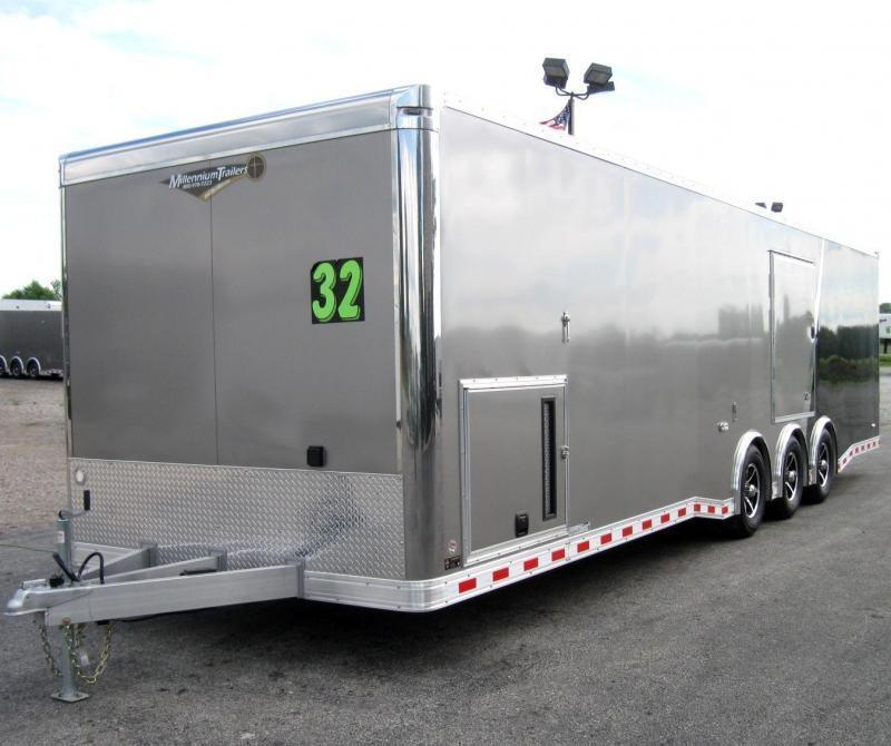<b>Sale Pending</b> 32' All Aluminum Frame</b> Millennium Extreme Black Cabinets/FREE Escape Door