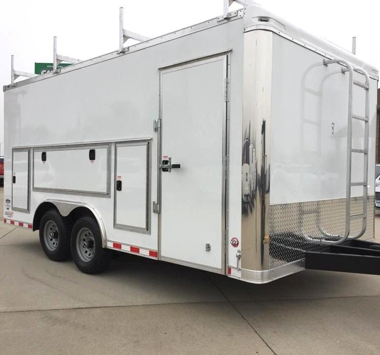 <b>Contractor's Dream Trailer</b> 2020 Millenniums NEW Work Mate Enclosed Cargo Trailer Pick Your Options