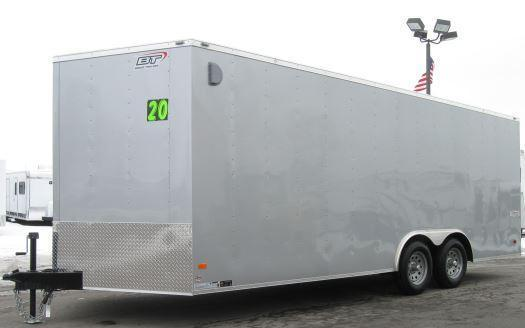 2020 20' Scout Enclosed Cargo Trailer