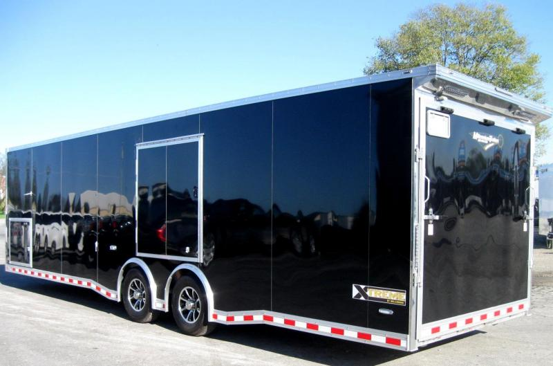 2018 30' ALL ALUMINUM NEW Extreme Red Cabinets/Wing/Escape Door