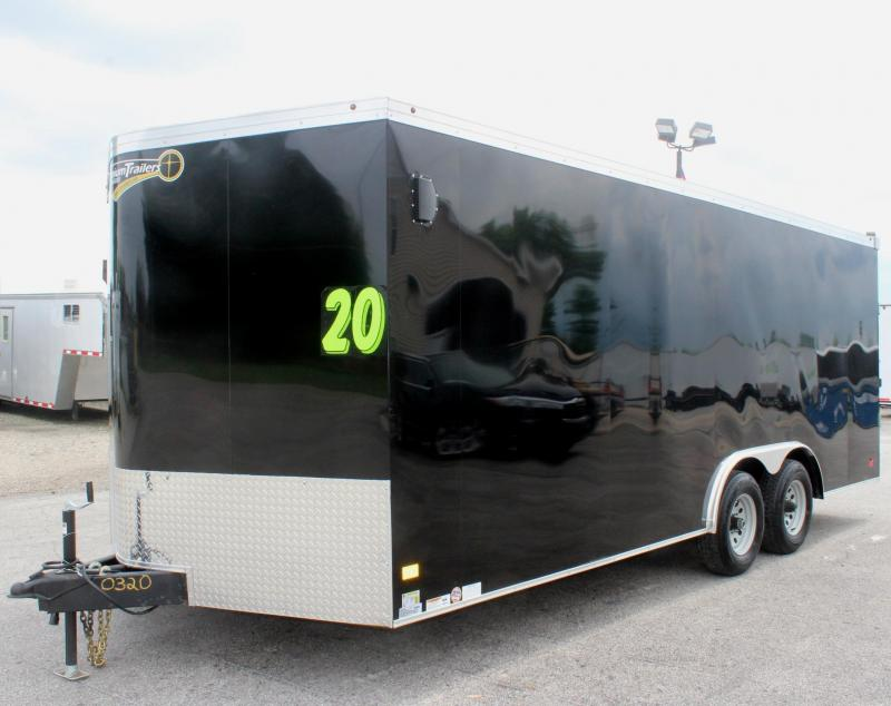 Deluxe Interior Pkg 2019 Screwless 20' Haulmark Transport Car / Racing Trailer HD Axles