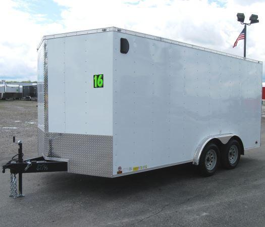 2017 8'x16' Value Hauler Wedge Enclosed Cargo Trailer