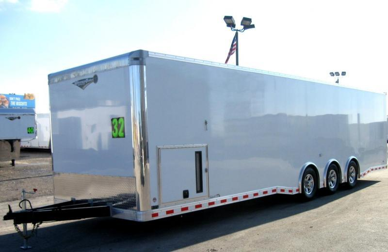 32' Millennium Extreme Race Trailer Spread Axles
